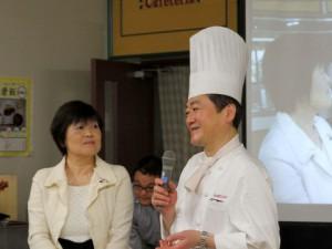 素晴らしいお料理で魅せて下さったGINZA kansei坂田シェフと巧みな話術で会場を盛り上げて下さった野菜ソムリエの小原さん